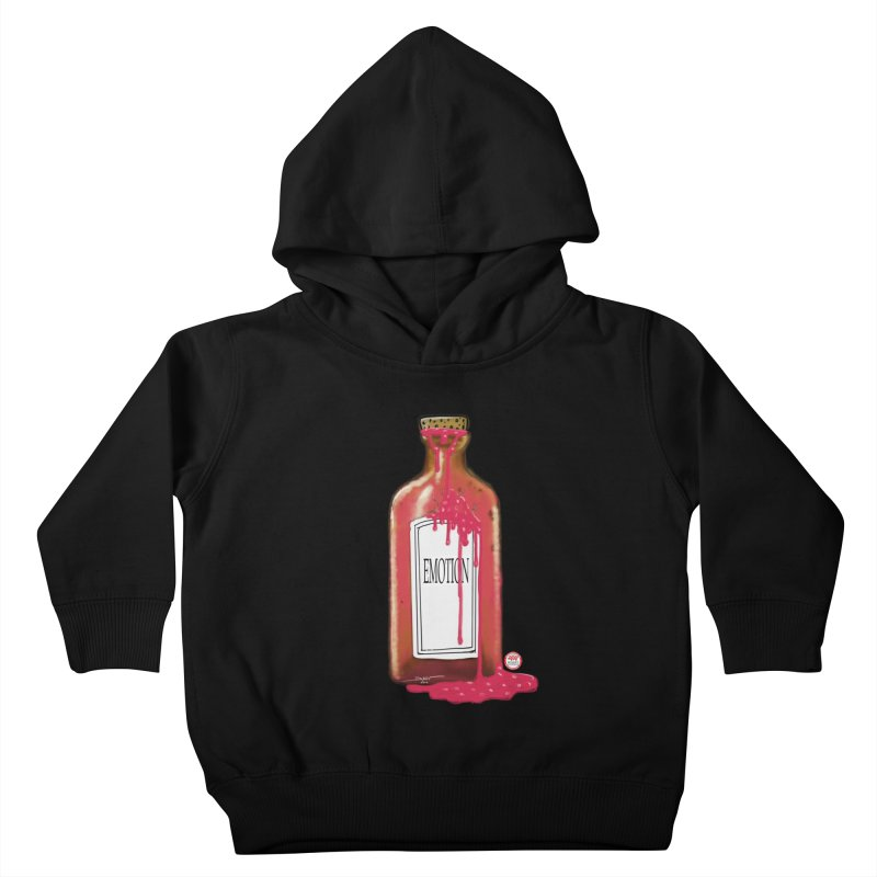 Bottled Emotion Kids Toddler Pullover Hoody by Pigment Studios Merch