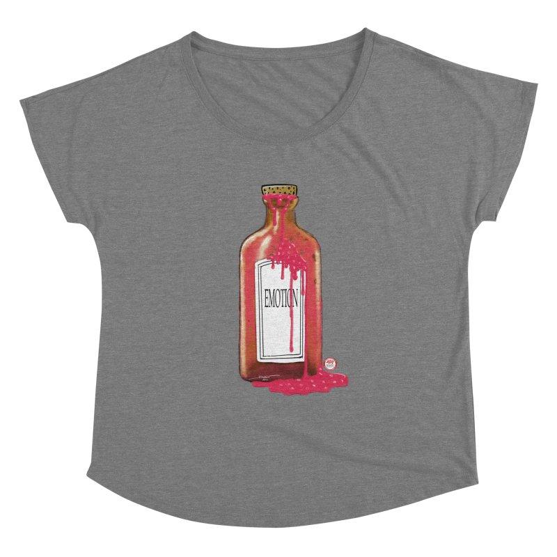 Bottled Emotion Women's Dolman Scoop Neck by Pigment Studios Merch