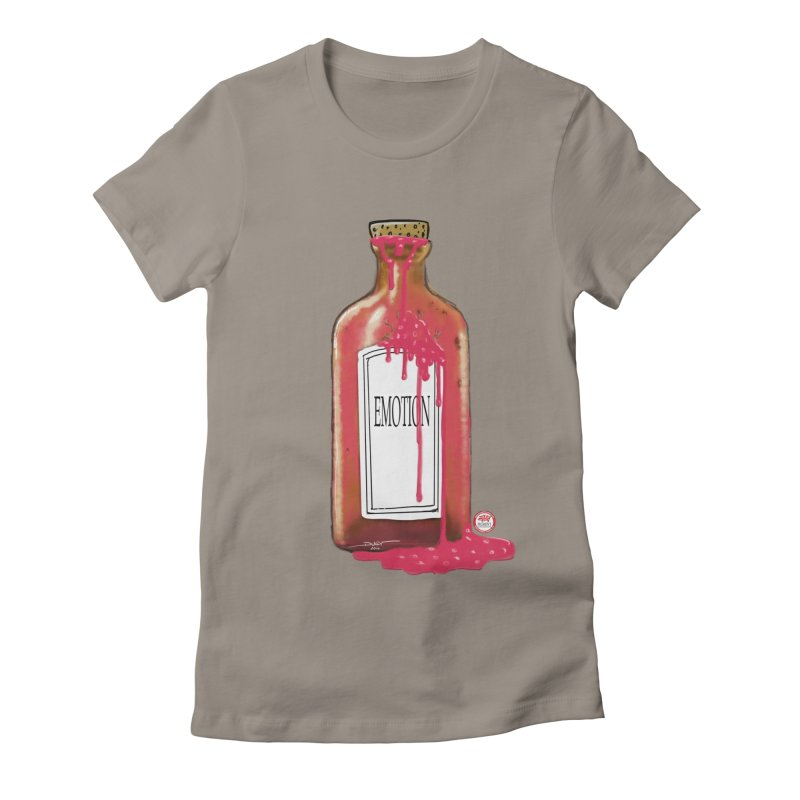 Bottled Emotion Women's T-Shirt by Pigment Studios Merch