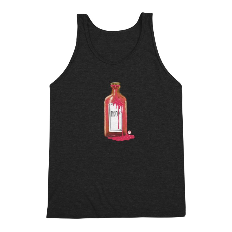 Bottled Emotion Men's Tank by Pigment Studios Merch