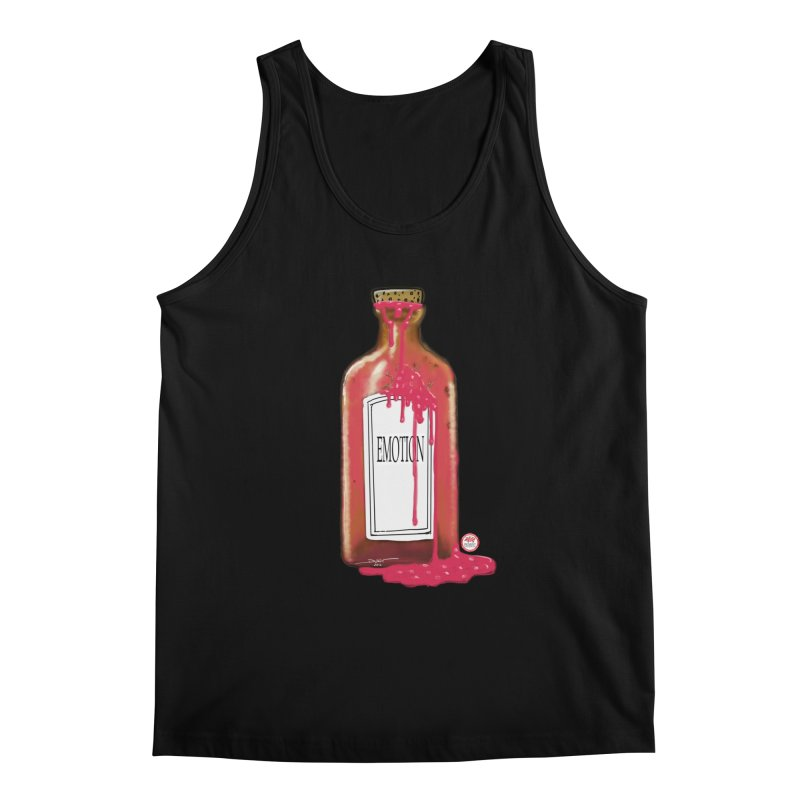 Bottled Emotion Men's Regular Tank by Pigment Studios Merch