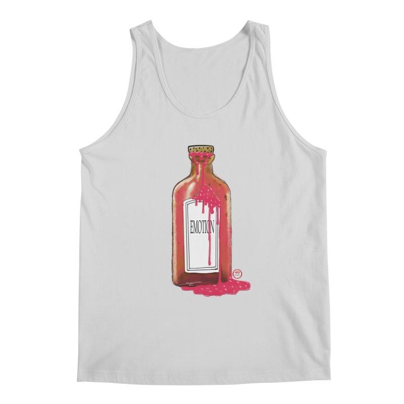 Bottled Emotion Men's Regular Tank by Pigment Studios Merch
