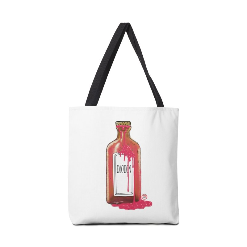 Bottled Emotion Accessories Tote Bag Bag by Pigment Studios Merch