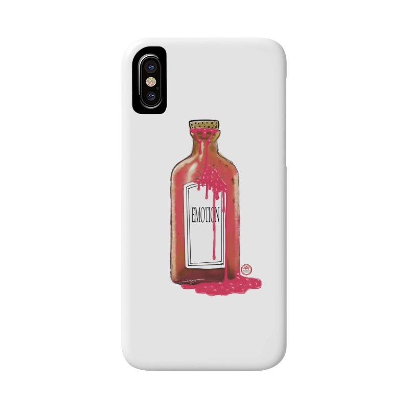 Bottled Emotion Accessories Phone Case by Pigment Studios Merch