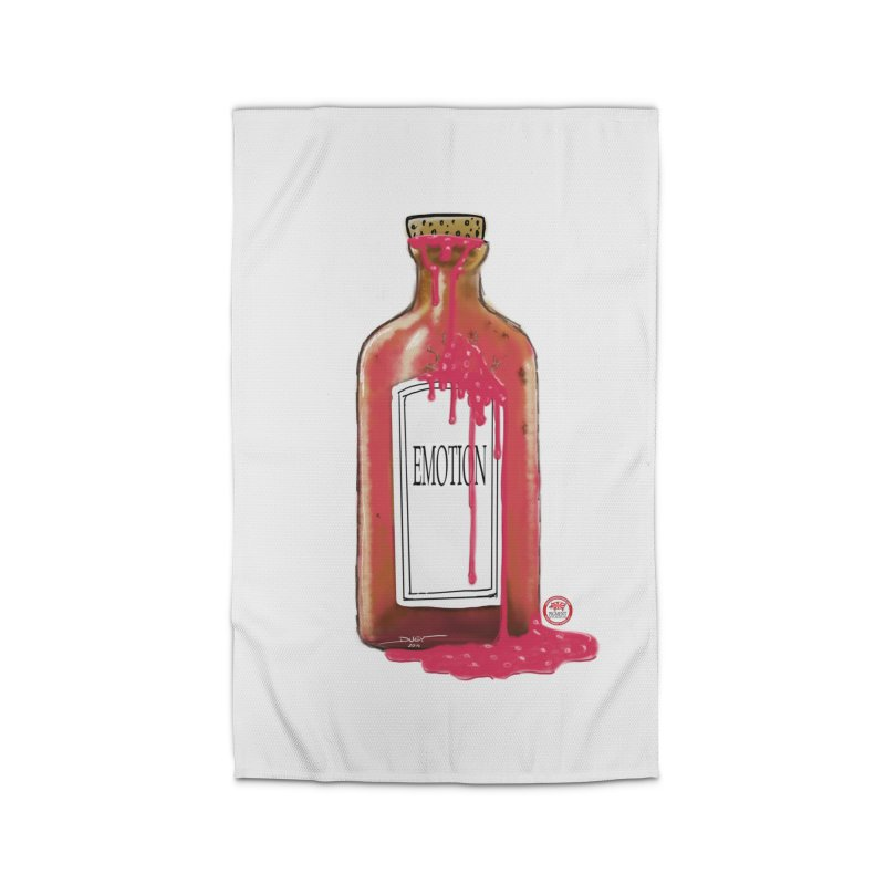 Bottled Emotion Home Rug by Pigment Studios Merch