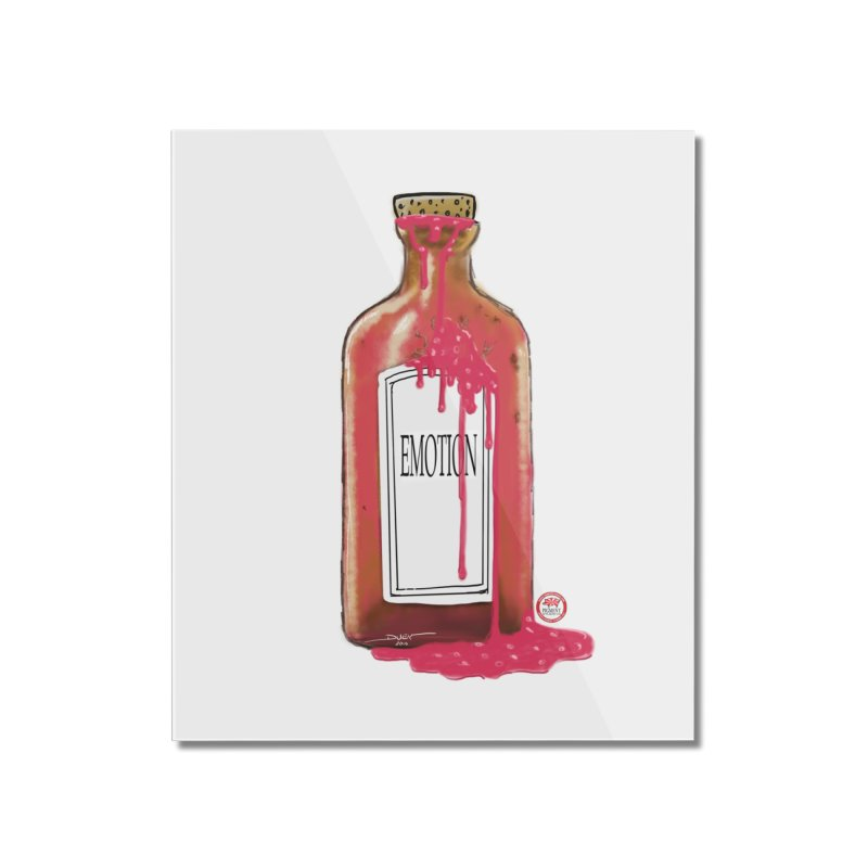 Bottled Emotion Home Mounted Acrylic Print by Pigment Studios Merch
