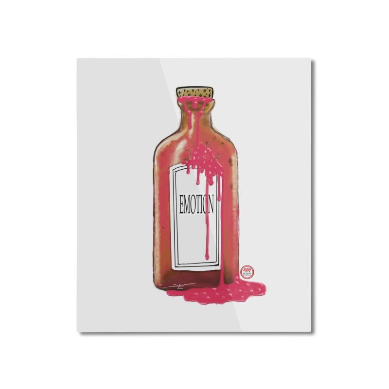 Bottled Emotion Home Mounted Aluminum Print by Pigment Studios Merch