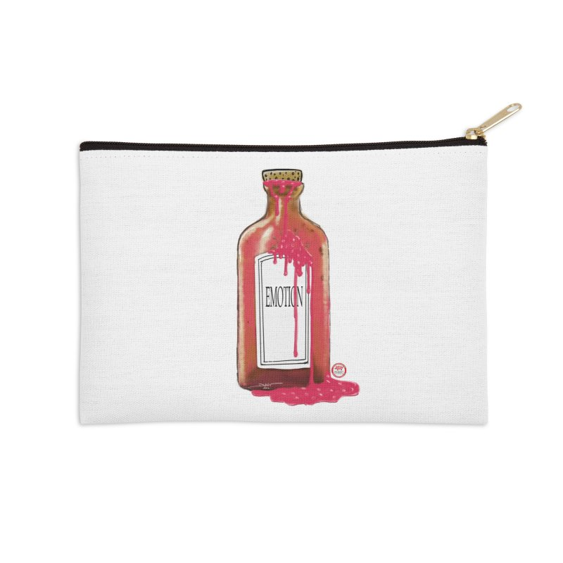 Bottled Emotion Accessories Zip Pouch by Pigment Studios Merch