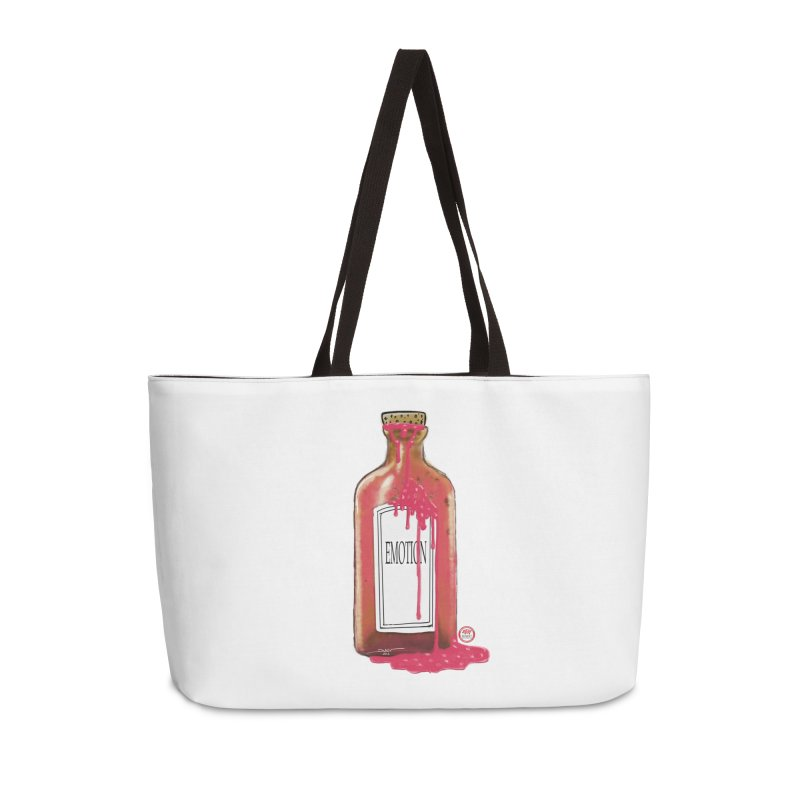 Bottled Emotion Accessories Weekender Bag Bag by Pigment Studios Merch