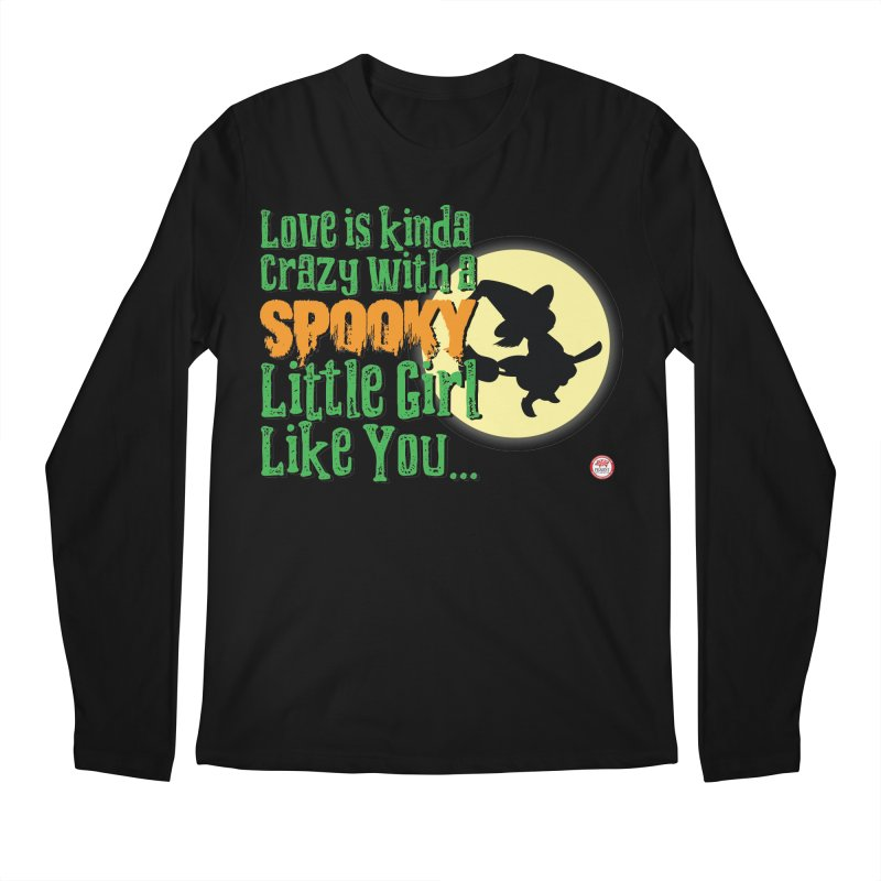 Love is kinda Crazy Men's Regular Longsleeve T-Shirt by Pigment Studios Merch
