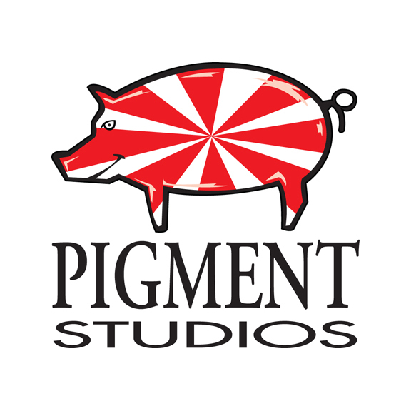Pigment Studios Merch Logo