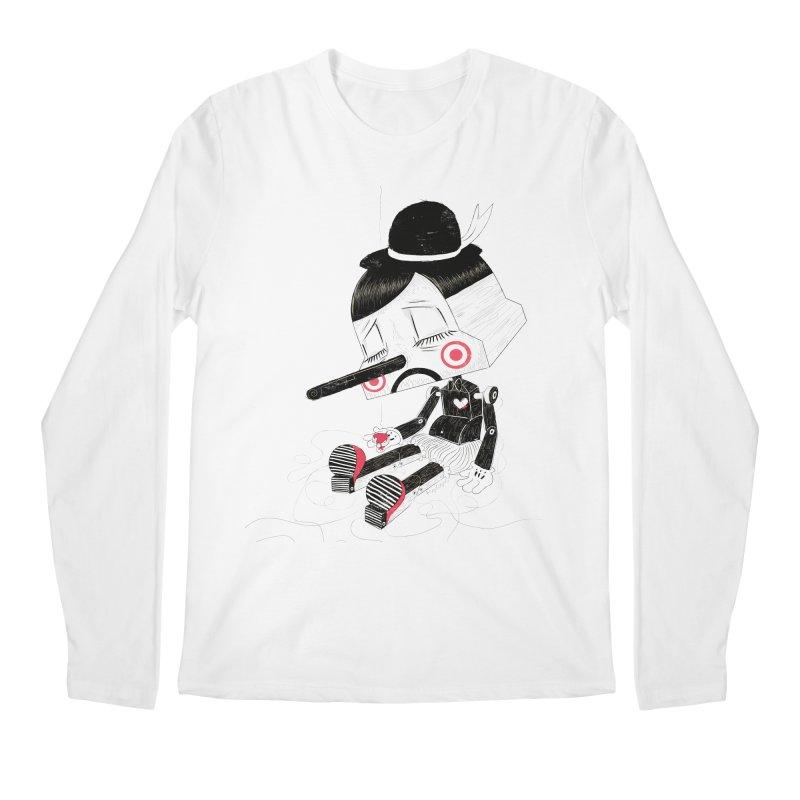 Unplug Men's Longsleeve T-Shirt by pigologist's Shop