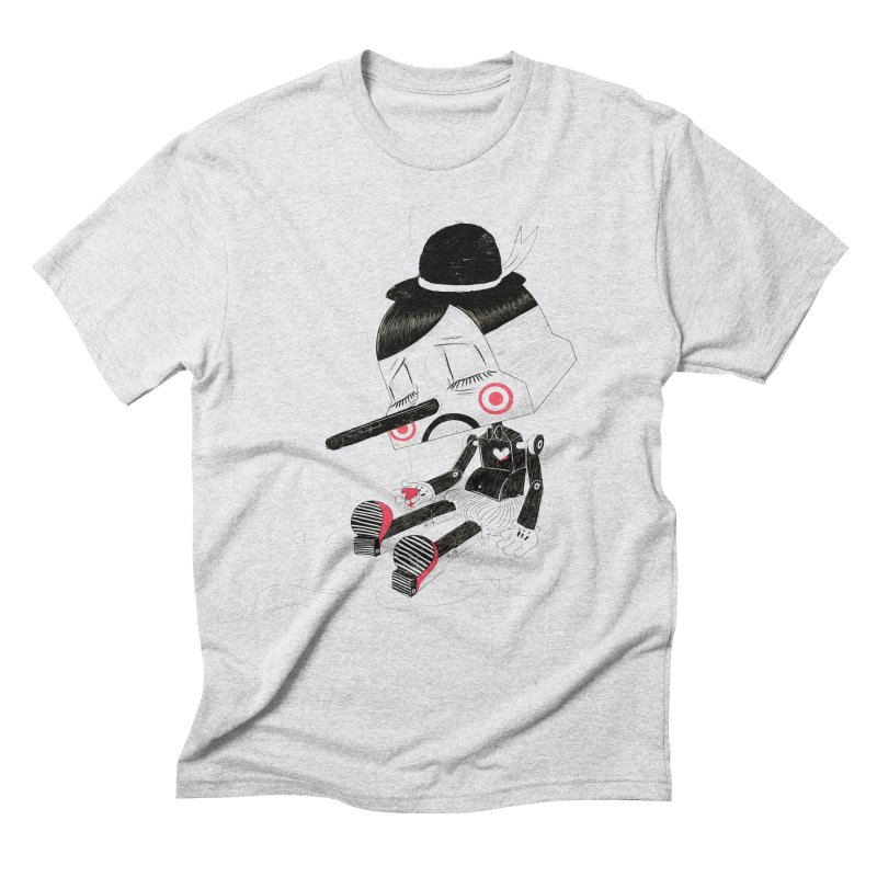 Unplug Men's Triblend T-Shirt by pigologist's Shop