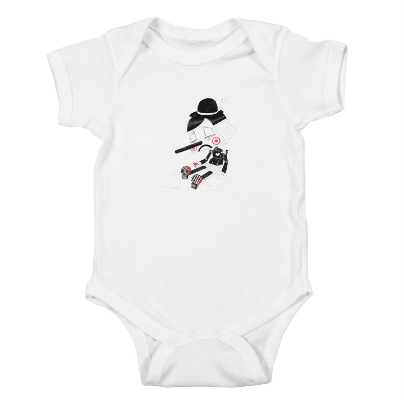 Unplug Kids Baby Bodysuit by pigologist's Shop