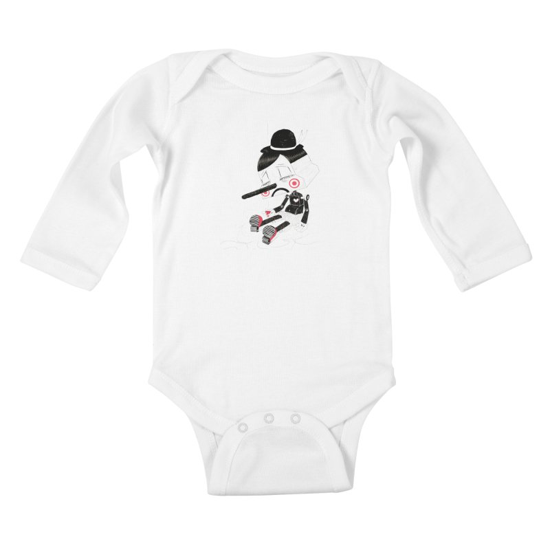 Unplug Kids Baby Longsleeve Bodysuit by pigologist's Shop