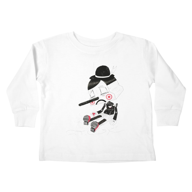 Unplug Kids Toddler Longsleeve T-Shirt by pigologist's Shop