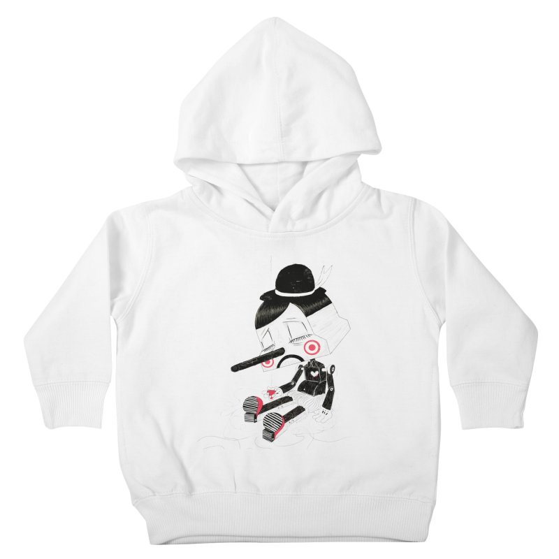 Unplug Kids Toddler Pullover Hoody by pigologist's Shop