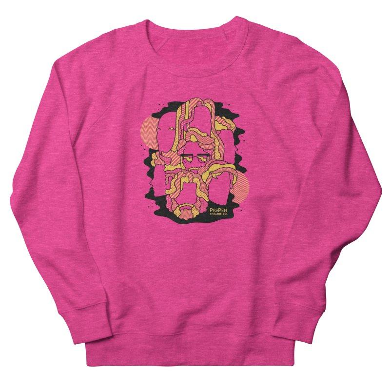 The Faces Women's French Terry Sweatshirt by PigPen Theatre Co.'s Online Merch Shop