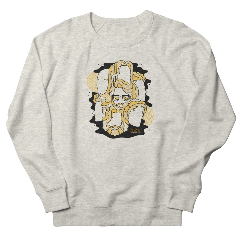 The Faces Women's French Terry Sweatshirt by PigPen Theatre Co.'s Online Merch Shop