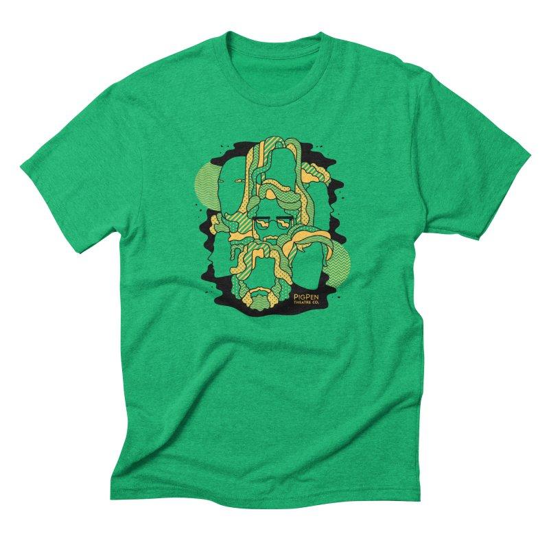The Faces Men's Triblend T-Shirt by PigPen Theatre Co.'s Online Merch Shop