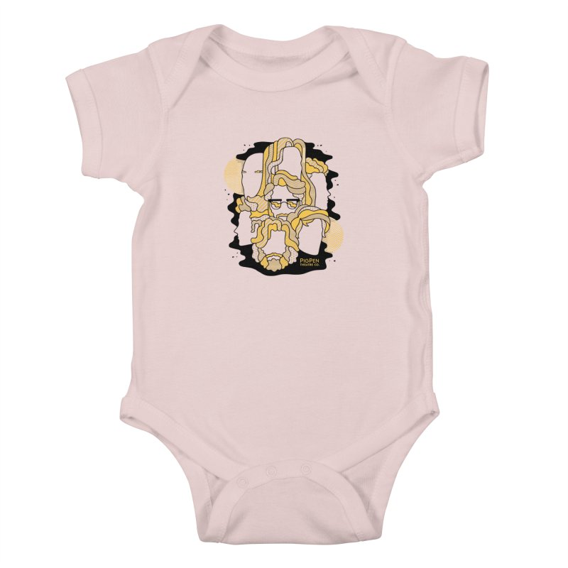 The Faces Kids Baby Bodysuit by PigPen Theatre Co.'s Online Merch Shop