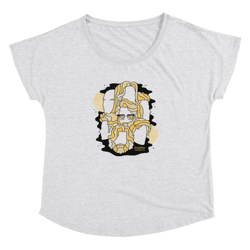 The Faces Women's Dolman Scoop Neck by PigPen Theatre Co.'s Online Merch Shop