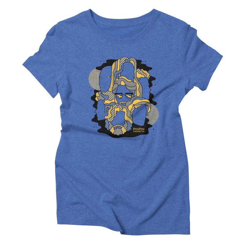 The Faces Women's Triblend T-Shirt by PigPen Theatre Co.'s Online Merch Shop