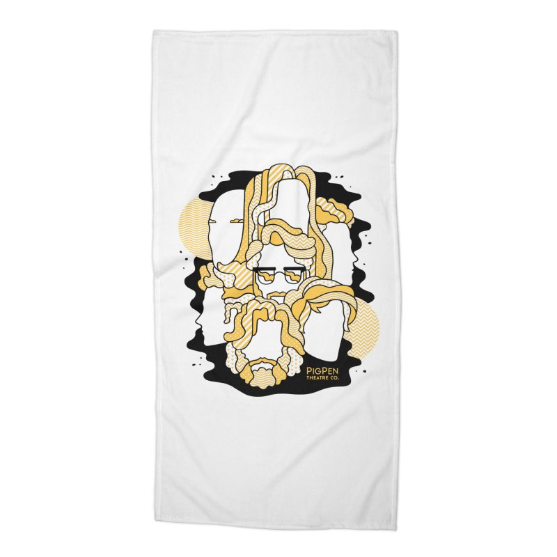 The Faces Accessories Beach Towel by PigPen Theatre Co.'s Online Merch Shop