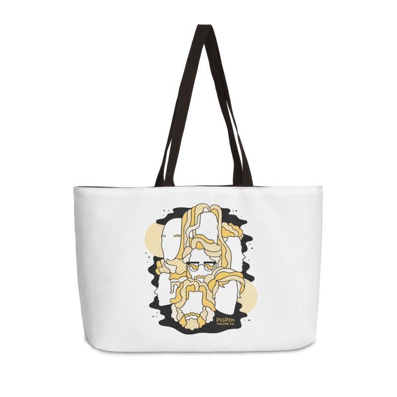 The Faces Accessories Weekender Bag Bag by PigPen Theatre Co.'s Online Merch Shop