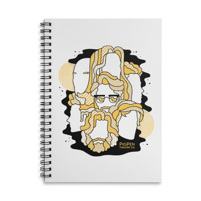 The Faces Accessories Lined Spiral Notebook by PigPen Theatre Co.'s Online Merch Shop