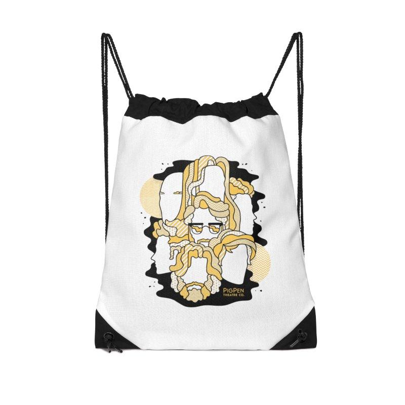 The Faces Accessories Drawstring Bag Bag by PigPen Theatre Co.'s Online Merch Shop
