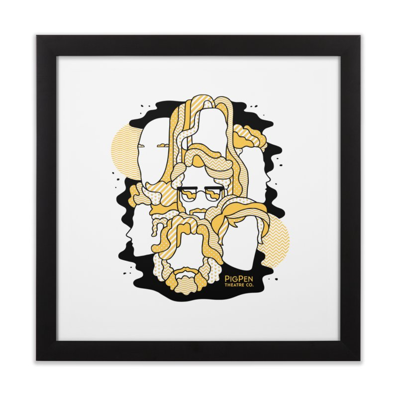 The Faces Home Framed Fine Art Print by PigPen Theatre Co.'s Online Merch Shop