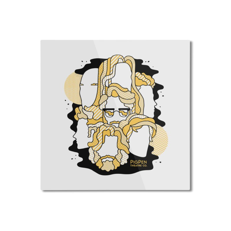 The Faces Home Mounted Aluminum Print by PigPen Theatre Co.'s Online Merch Shop