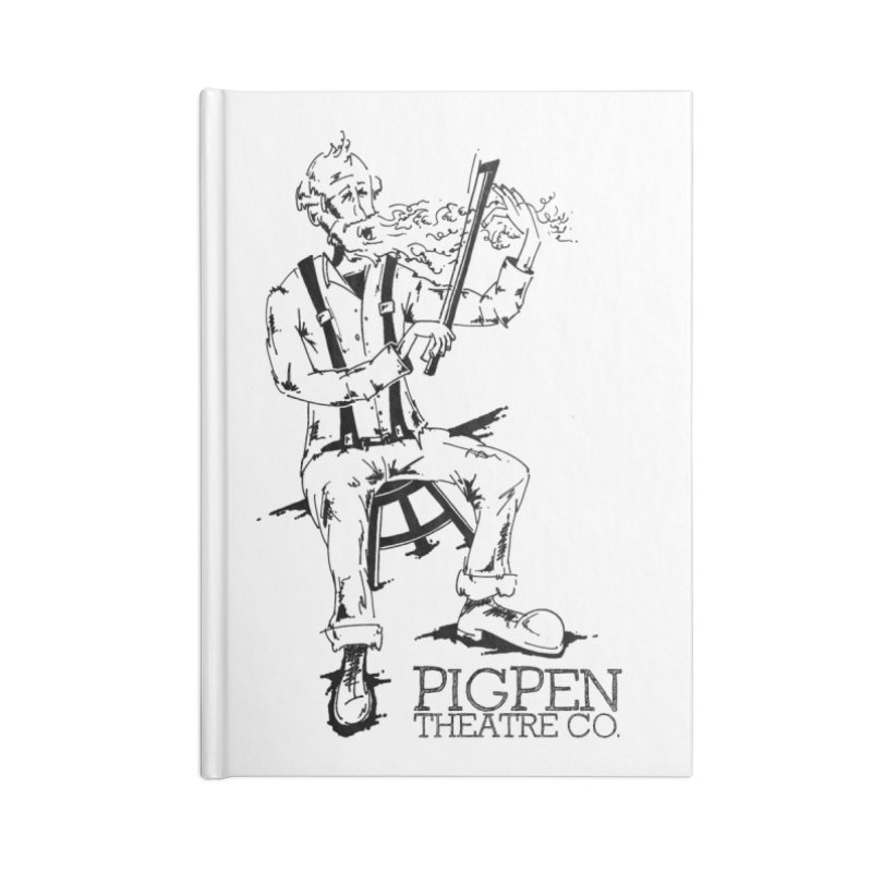 The Fiddler Accessories Lined Journal Notebook by PigPen Theatre Co.'s Online Merch Shop