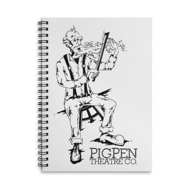 The Fiddler Accessories Lined Spiral Notebook by PigPen Theatre Co.'s Online Merch Shop