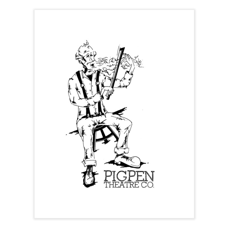 The Fiddler Home Fine Art Print by PigPen Theatre Co.'s Online Merch Shop