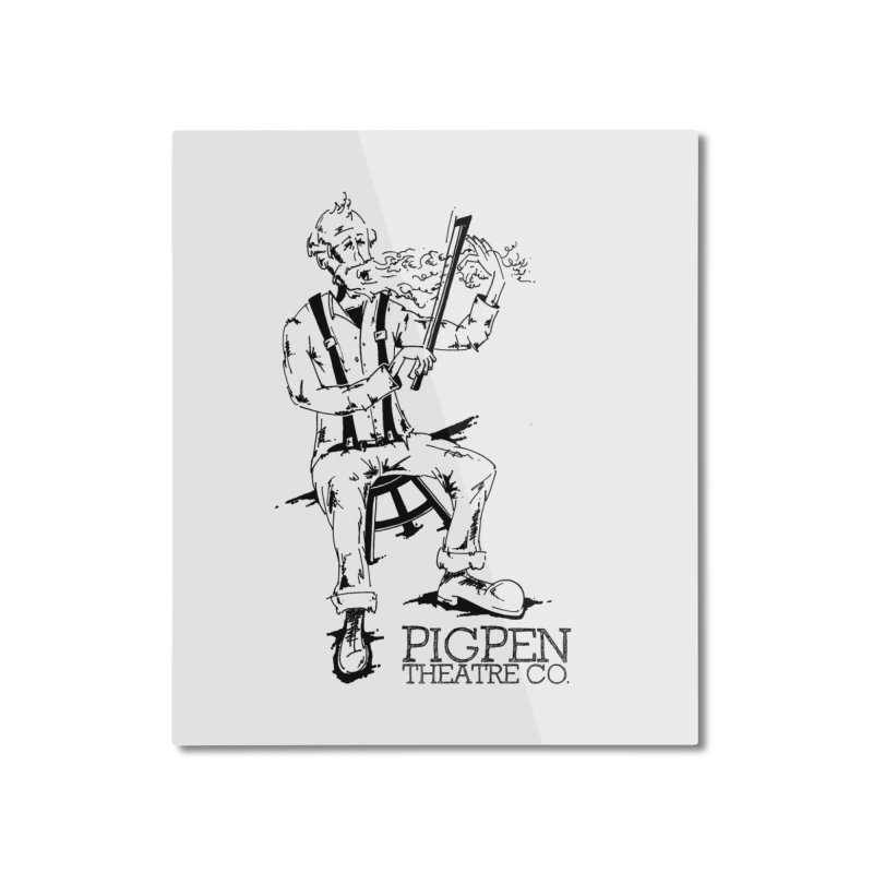 The Fiddler Home Mounted Aluminum Print by PigPen Theatre Co.'s Online Merch Shop