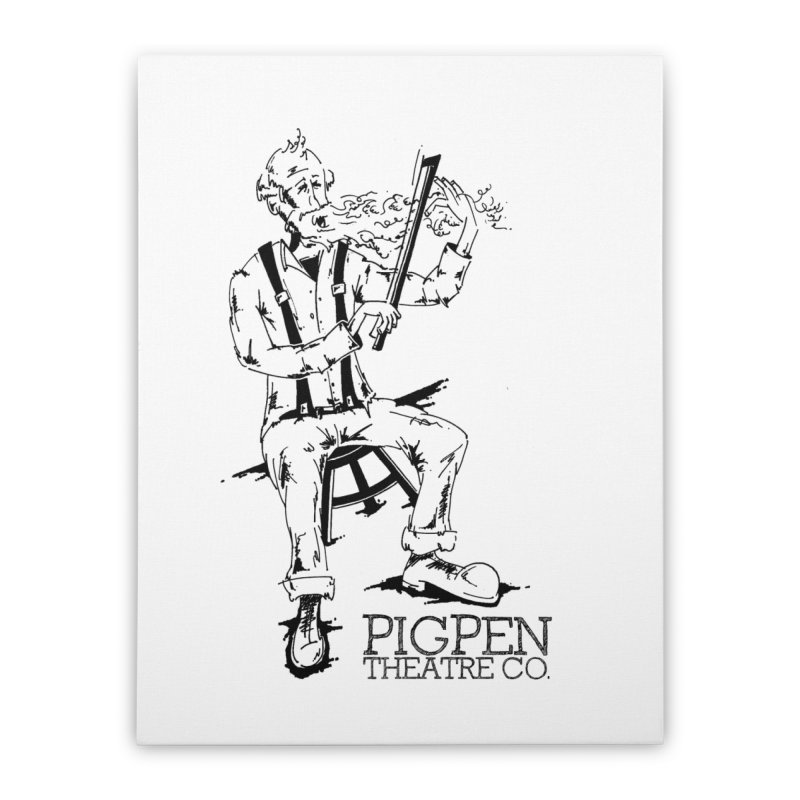 The Fiddler Home Stretched Canvas by PigPen Theatre Co.'s Online Merch Shop