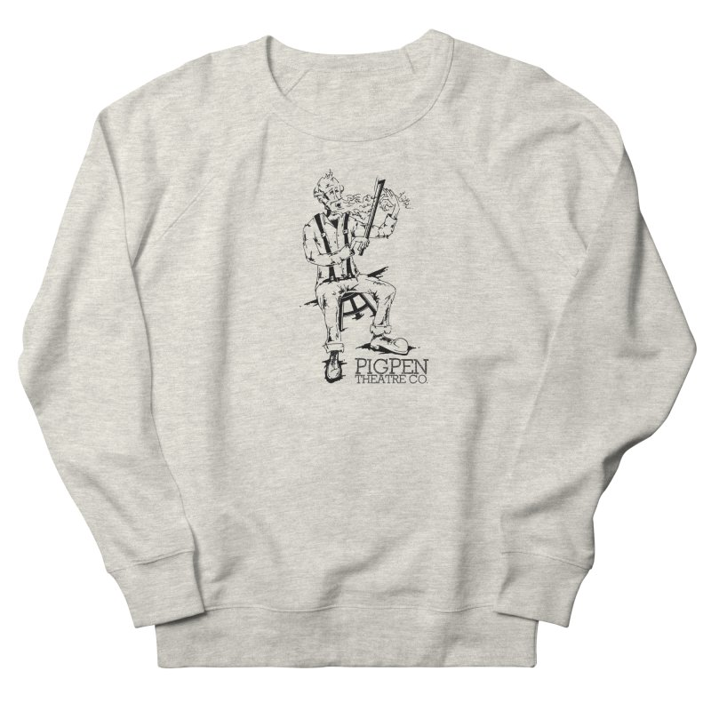 The Fiddler Women's French Terry Sweatshirt by PigPen Theatre Co.'s Online Merch Shop