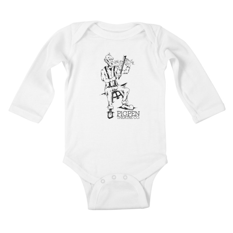 The Fiddler Kids Baby Longsleeve Bodysuit by PigPen Theatre Co.'s Online Merch Shop