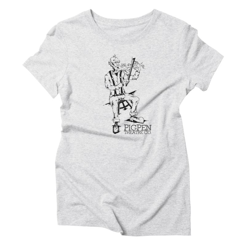 The Fiddler Women's Triblend T-Shirt by PigPen Theatre Co.'s Online Merch Shop