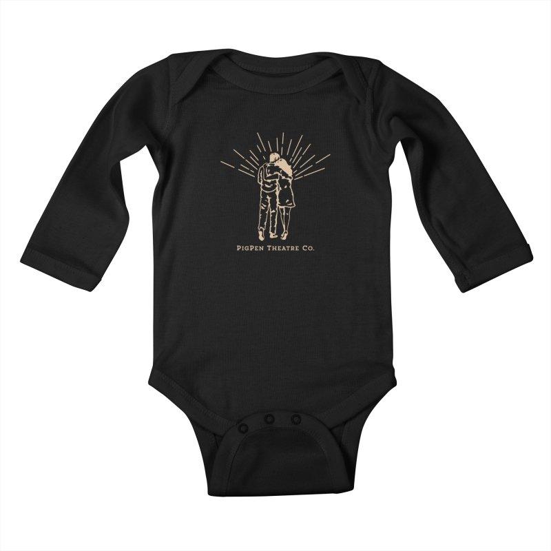 The Couple Kids Baby Longsleeve Bodysuit by PigPen Theatre Co.'s Online Merch Shop