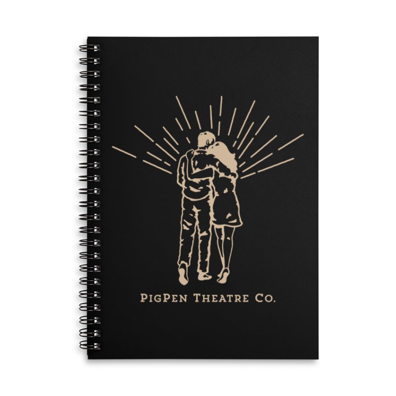 The Couple Accessories Lined Spiral Notebook by PigPen Theatre Co.'s Online Merch Shop