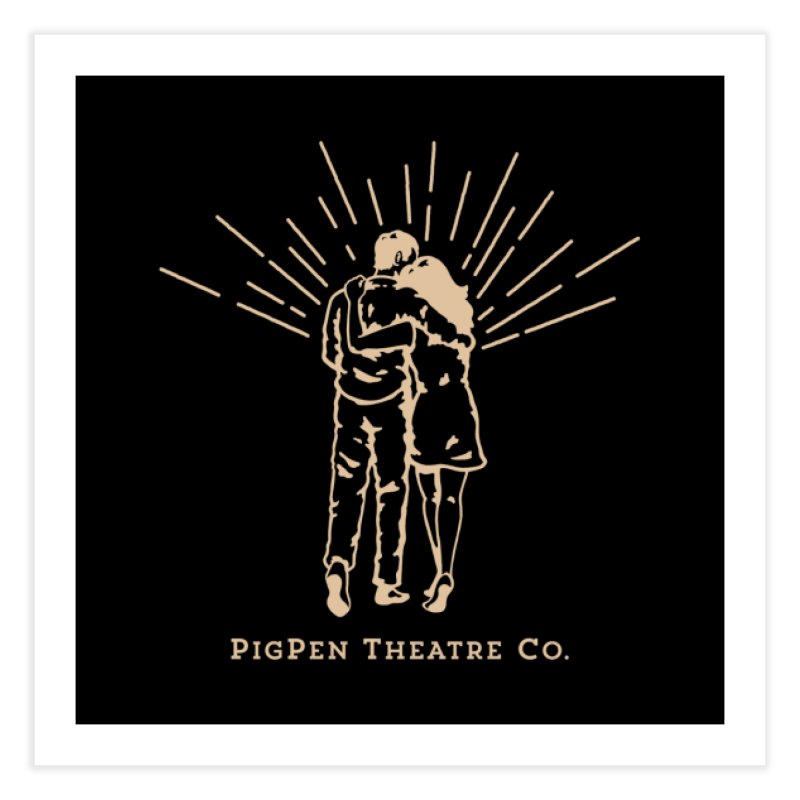 The Couple Home Fine Art Print by PigPen Theatre Co.'s Online Merch Shop