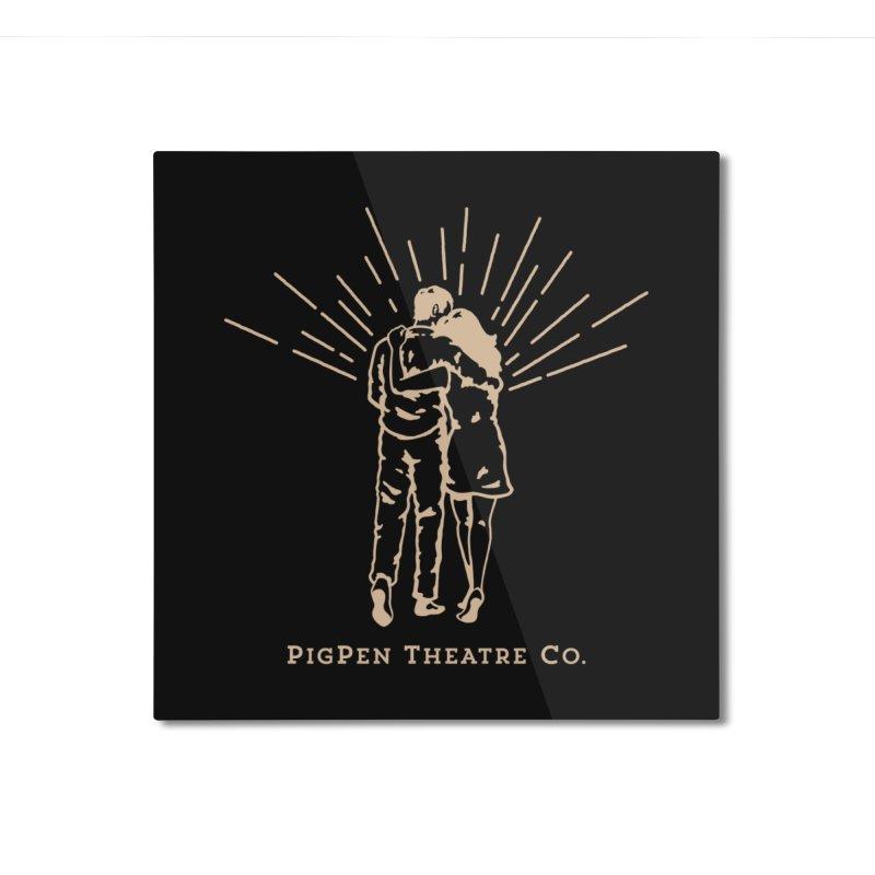 The Couple Home Mounted Aluminum Print by PigPen Theatre Co.'s Online Merch Shop