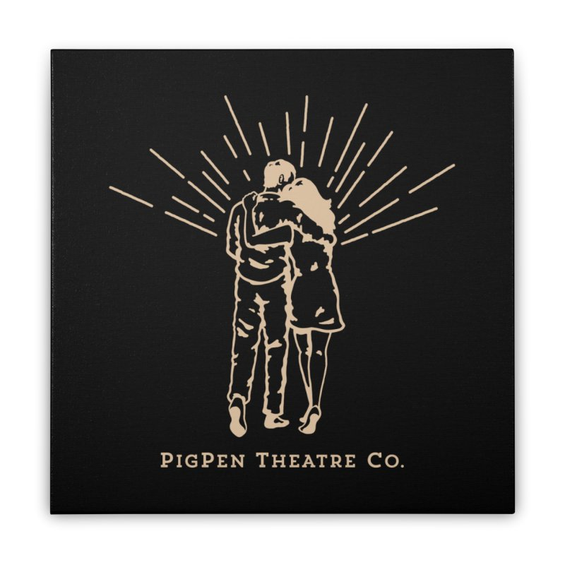 The Couple Home Stretched Canvas by PigPen Theatre Co.'s Online Merch Shop