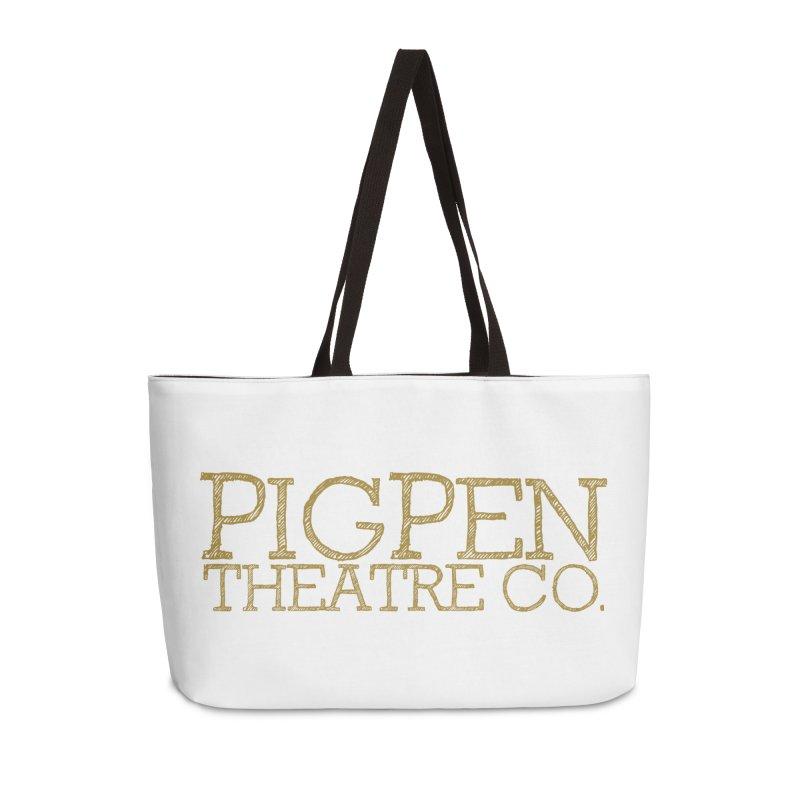 The Logo Accessories Weekender Bag Bag by PigPen Theatre Co.'s Online Merch Shop