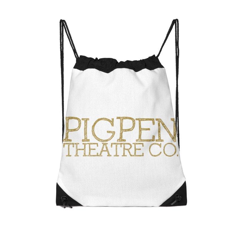 The Logo Accessories Drawstring Bag Bag by PigPen Theatre Co.'s Online Merch Shop