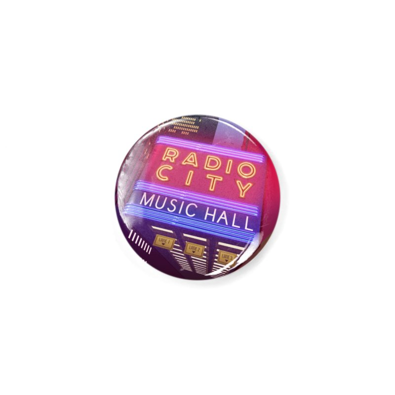 Radio City Music Hall Accessories Button by Pig's Ear Gear on Threadless