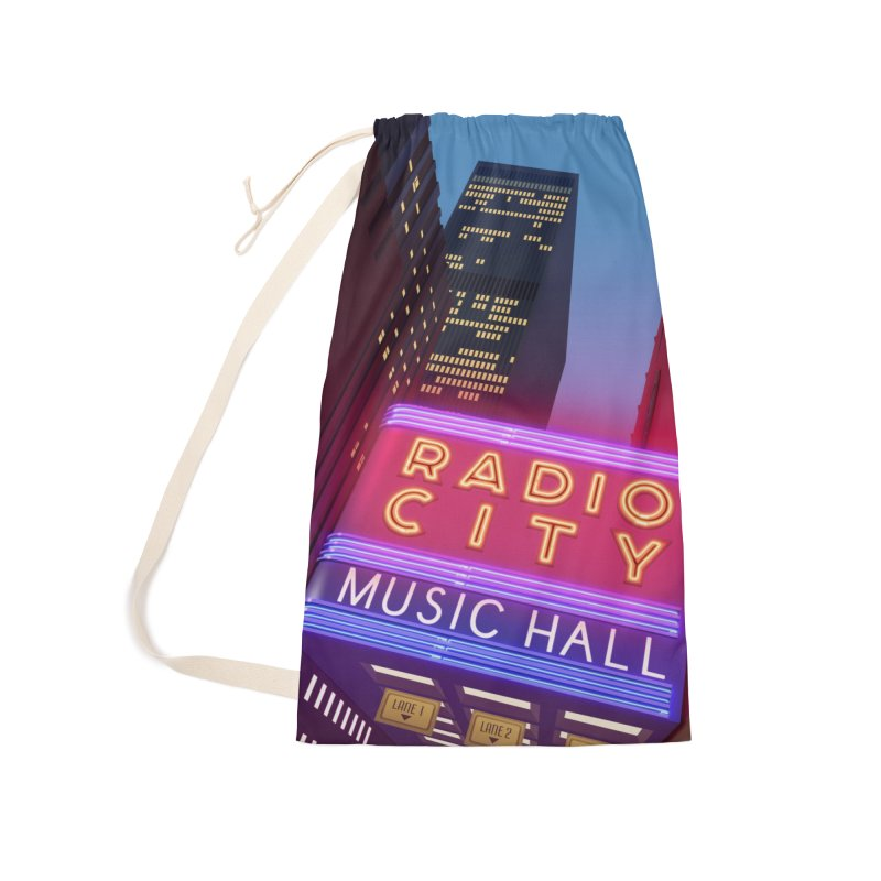 Radio City Music Hall Accessories Laundry Bag Bag by Pig's Ear Gear on Threadless